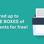 Shred up to THREE BOXES of documents for free!